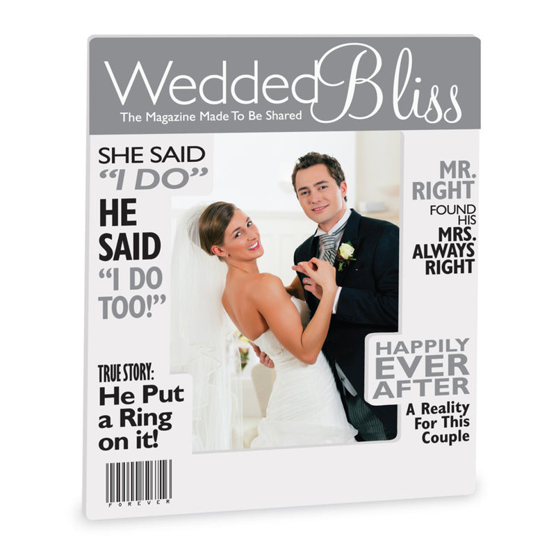 Wedding Magazine Frame