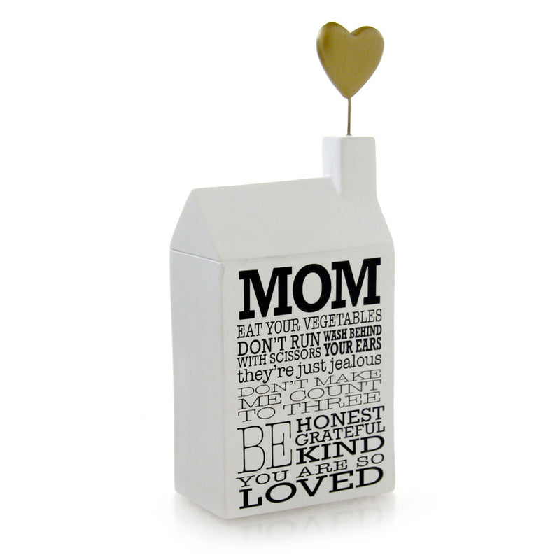 Mom Mantras Plaque