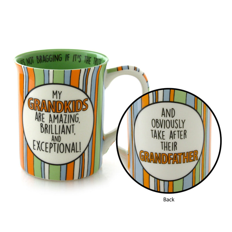 Grandfather Grandkids Mug