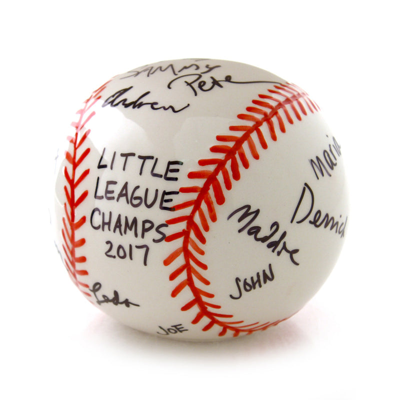 DIY Signature Baseball