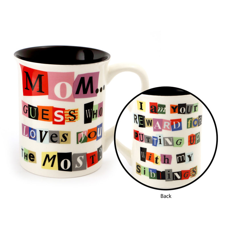 Ransom Note for Mom Mug