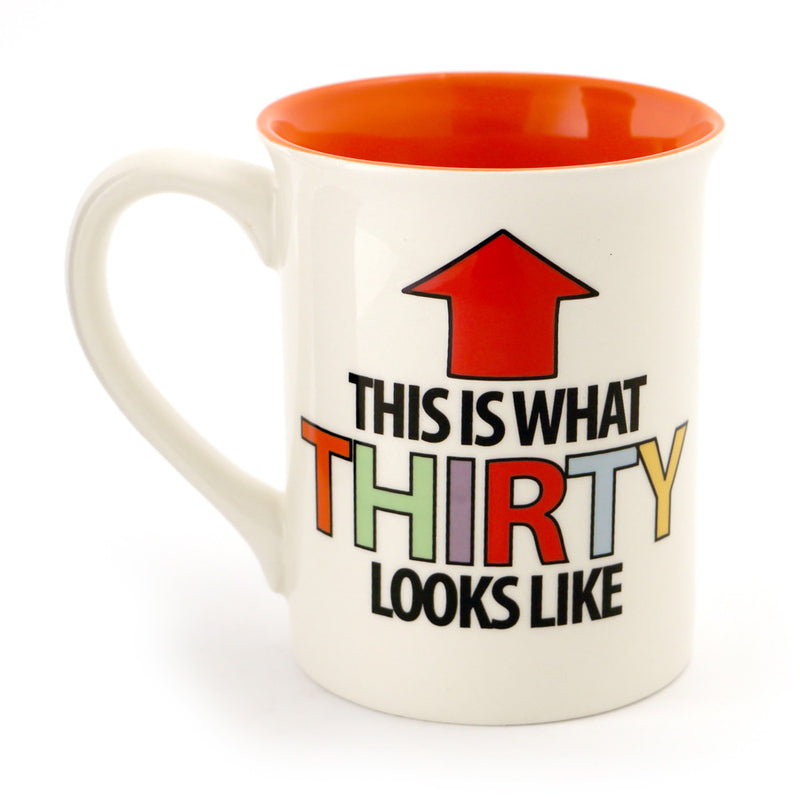 Thirty Birthday Mouth Mug