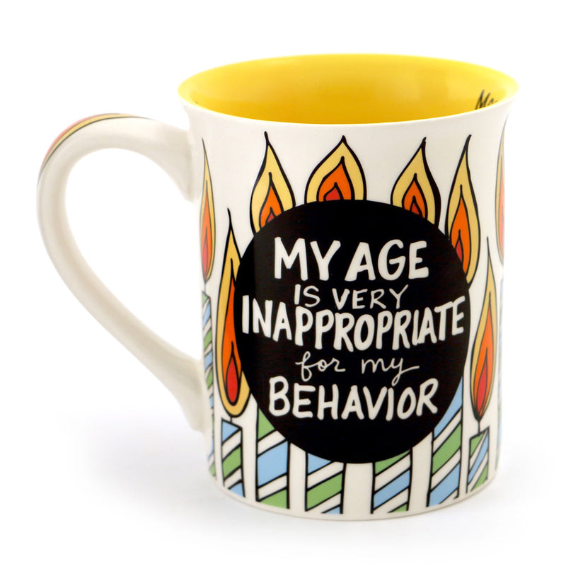 Over The Hill Birthday  Mug