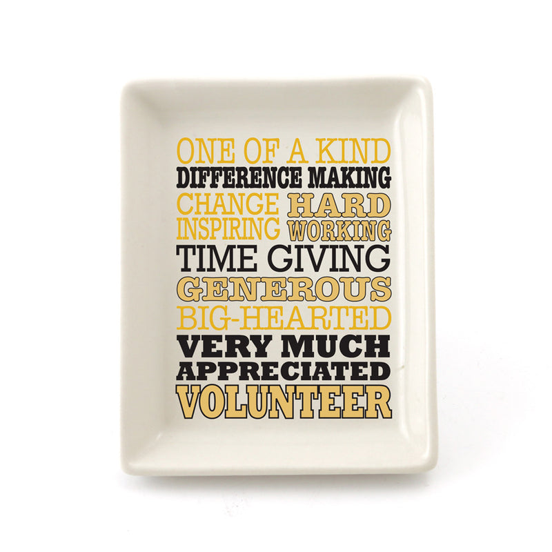 Volunteer Typography Tray