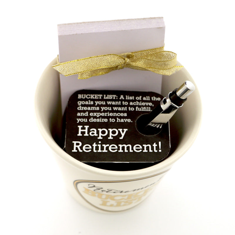 Retirement Bucket List Giftset