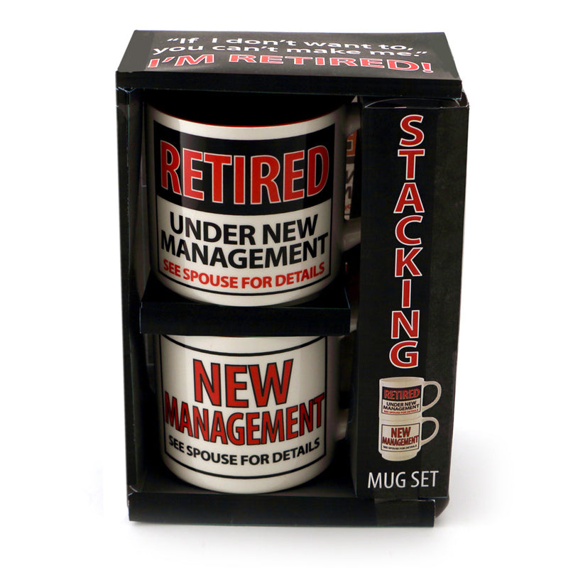 Retired Stacking Mug Set