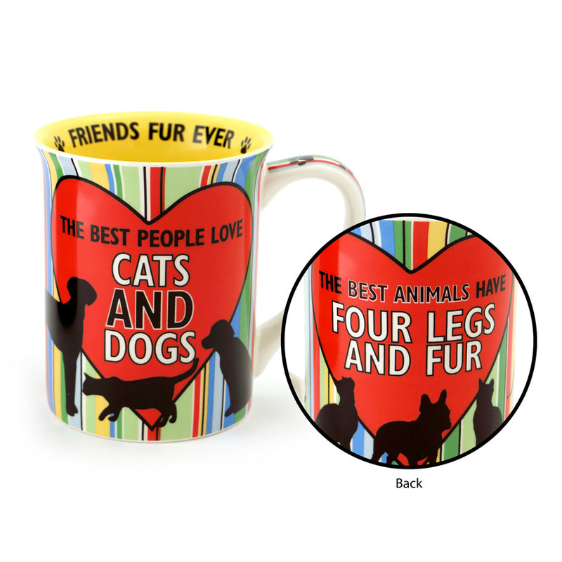Cat and Dog People Mug