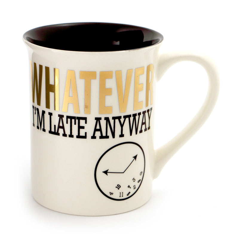 Whatever Mug Metallic Gold