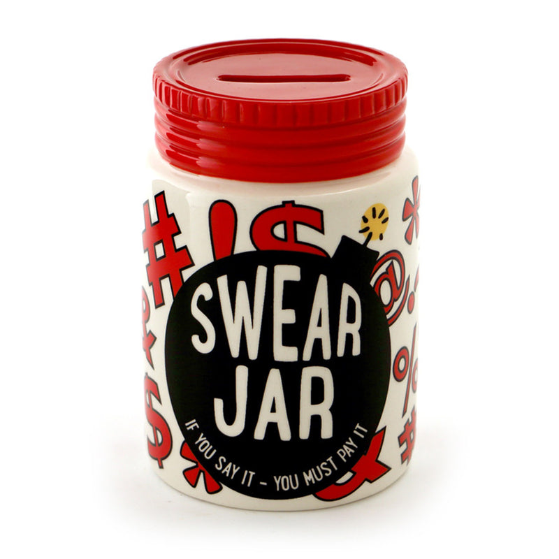Swear Jar with Cap Bank