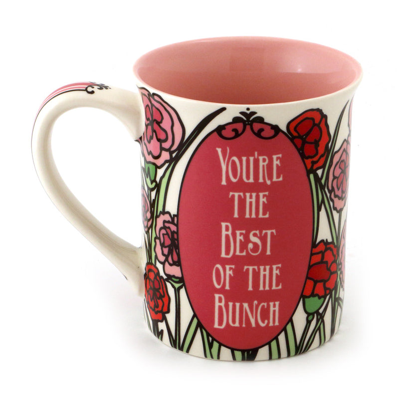 January Birthday Flower Mug