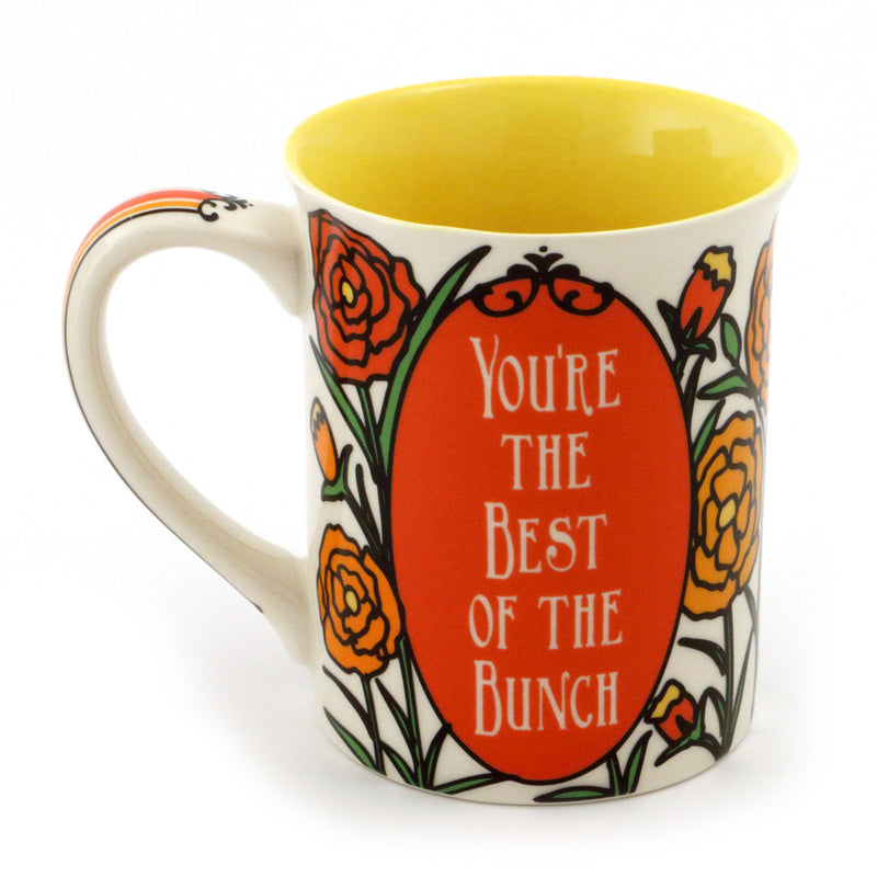 October Birthday Flower Mug