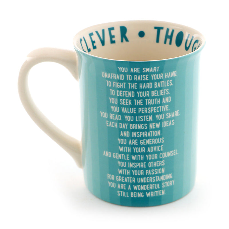 Aqua Wise and Wonderful  Mug