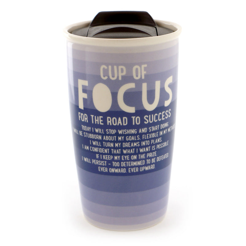 Cup of Focus Travel Mug