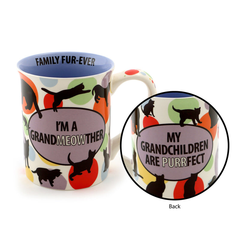 Cat Grandmother Mug