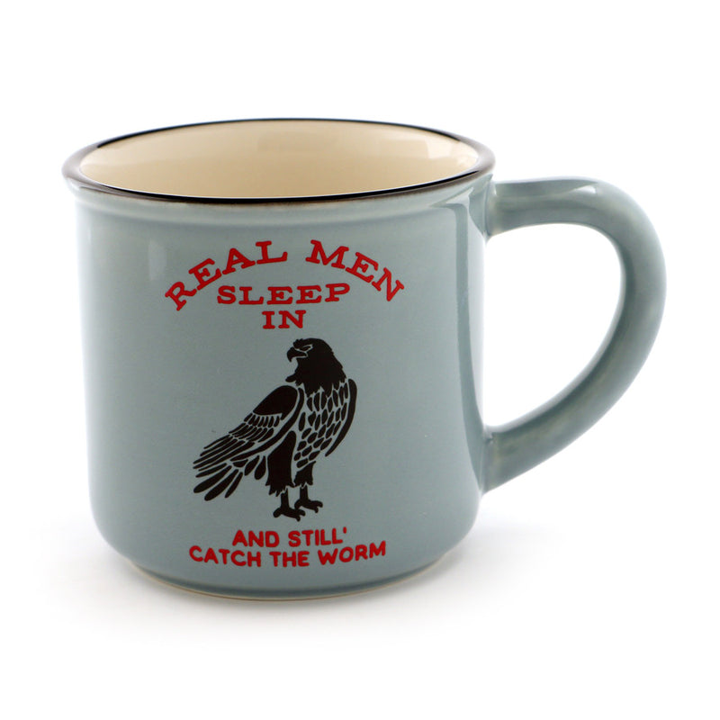 Hawk Fishing Mug