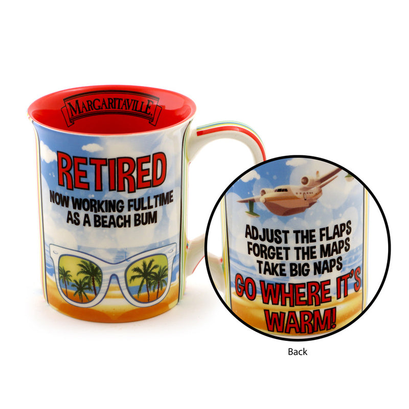 Retired in Margaritaville Mug