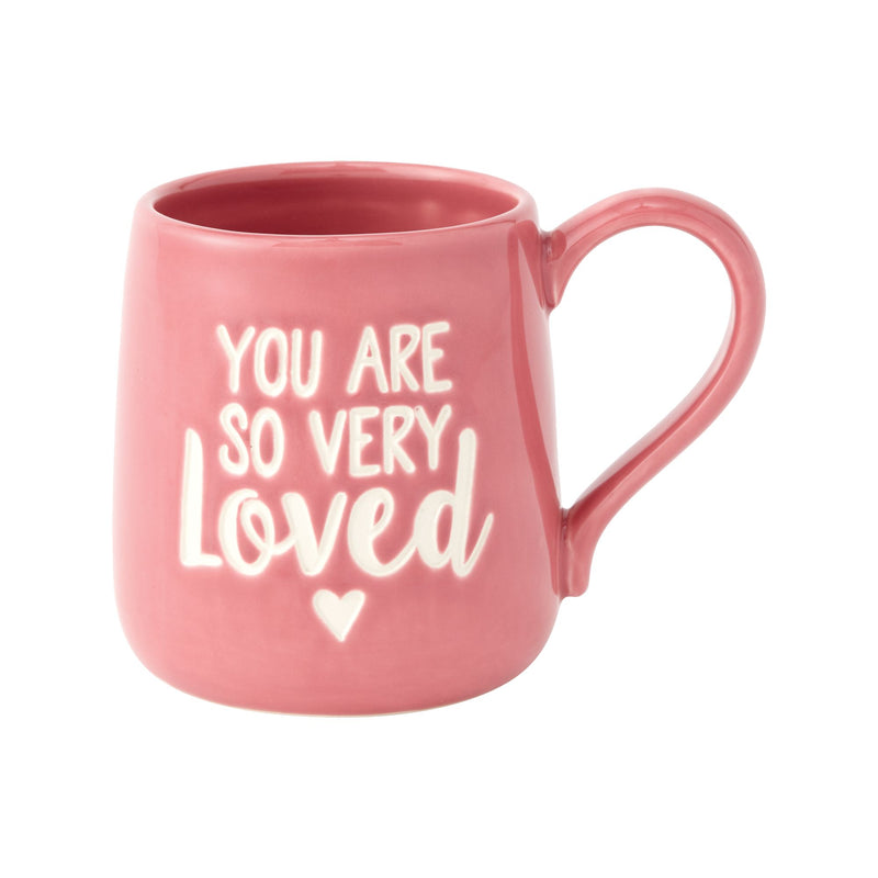 YOU ARE LOVED ETCHED MUG