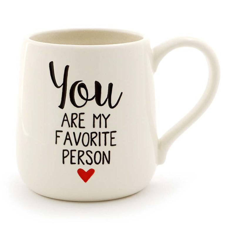 FAVORITE PERSON ETCHED MUG
