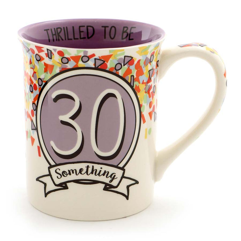 3O SOMETHING BIRTHDAY MUG