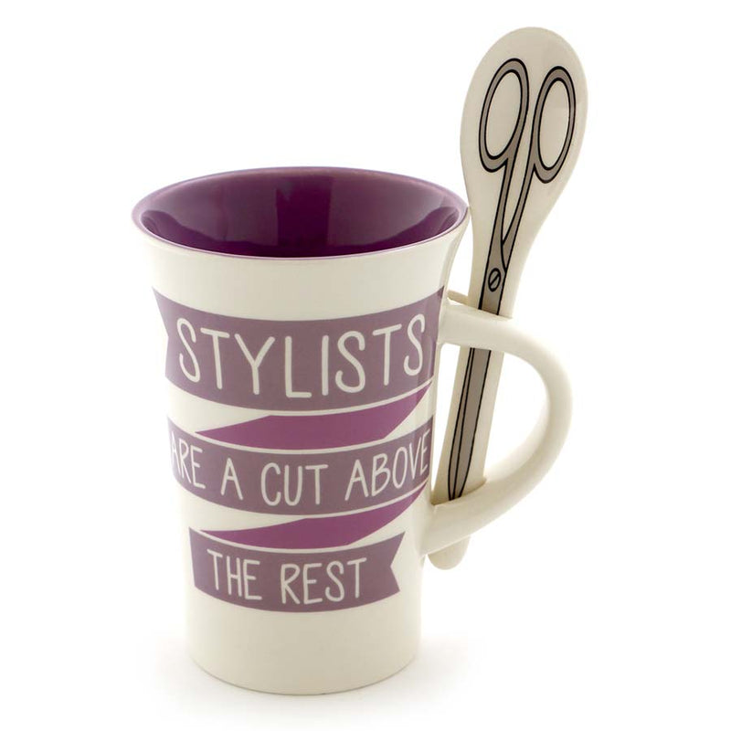 STYLIST MUG WITH SPOON