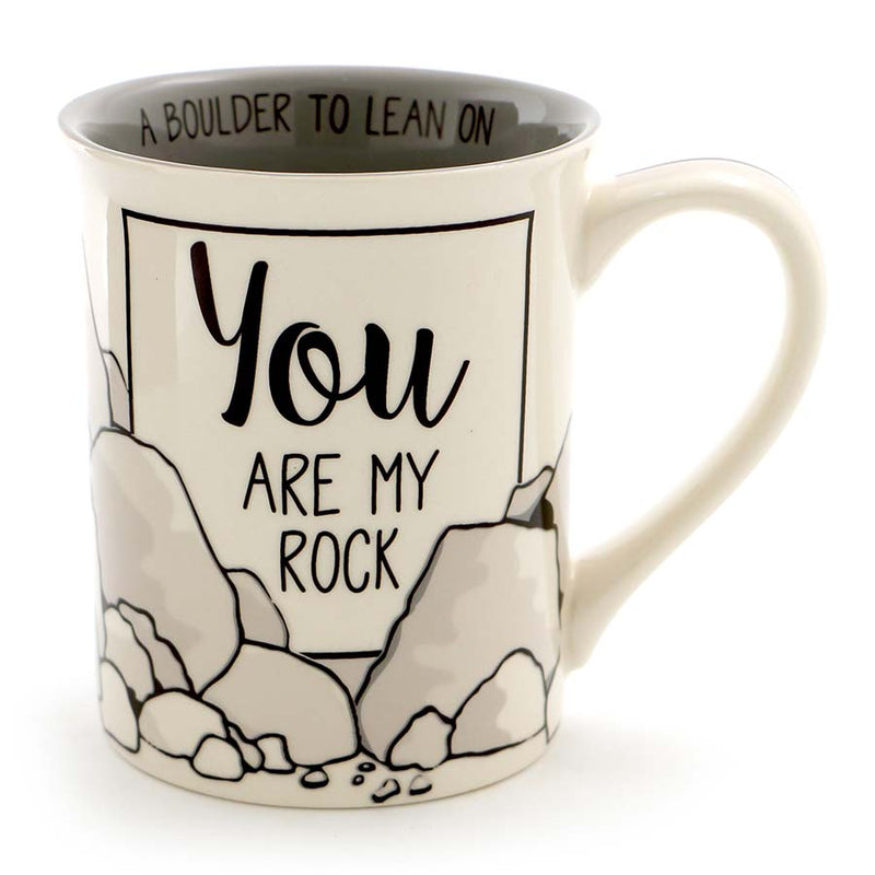 YOU ARE MY ROCK MUG