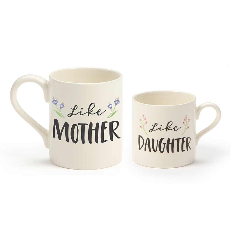 Like Mom Daugher Mug set