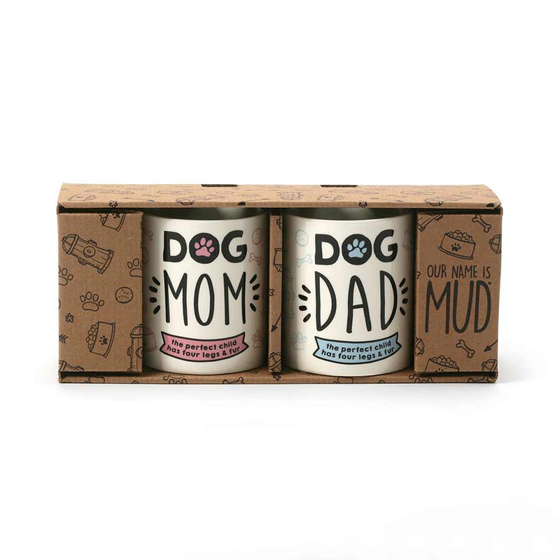 DOG MOM & DOG DAD SET