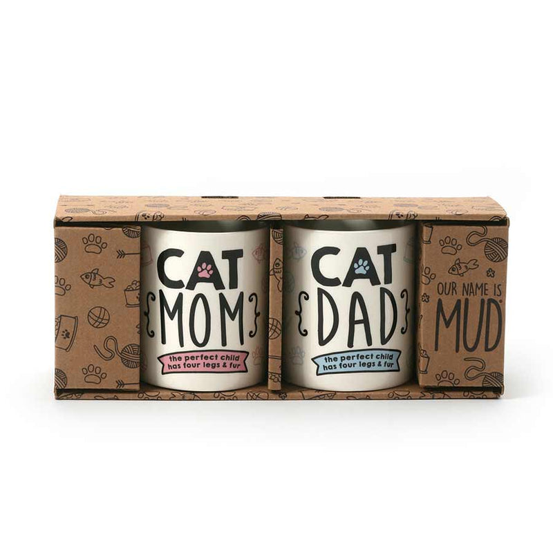CAT MOM & CAT DAD SET
