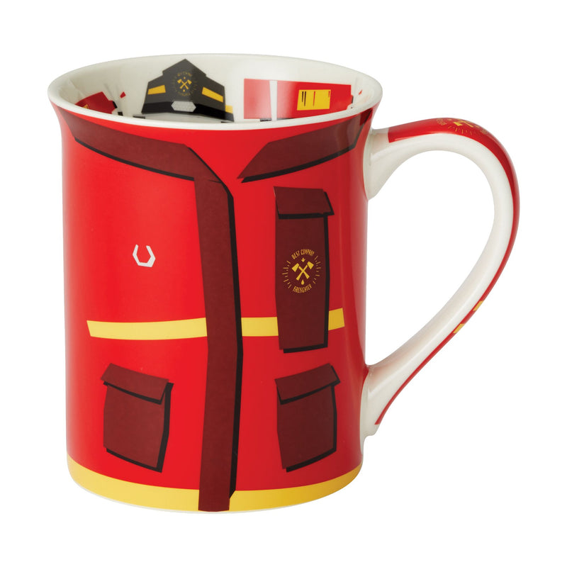 FIrefighter  Uniform Mug