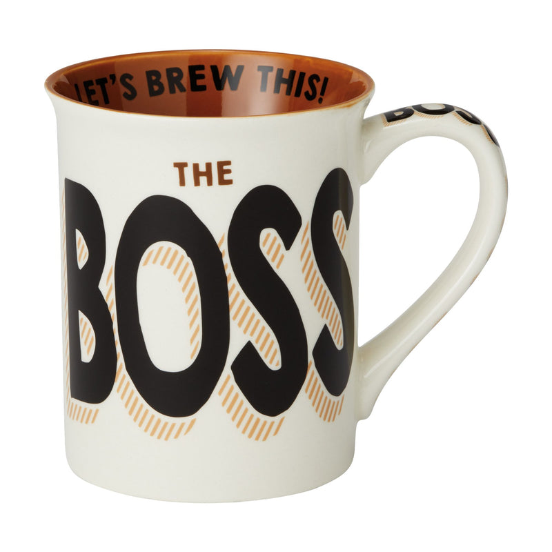 Boss Let's Brew This Mug