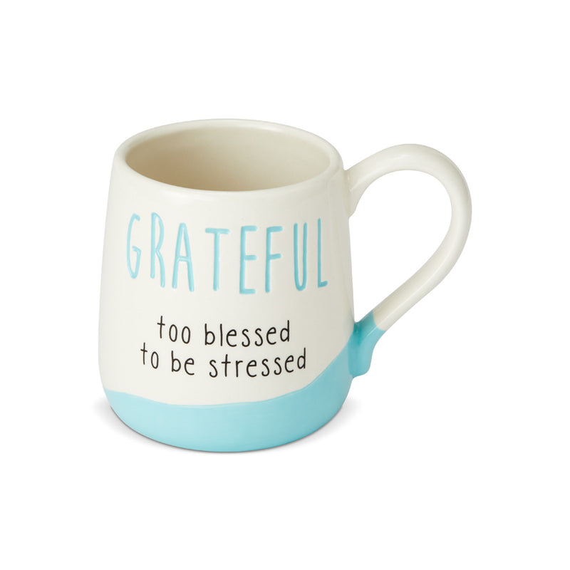 Engraved Grateful Mug
