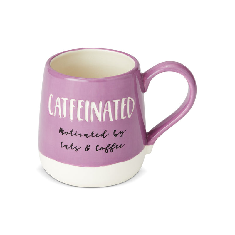 Catfeinated Engraved Mug