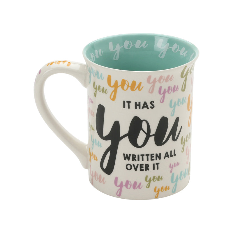 You You You Birthday Mug