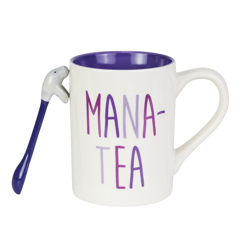 Mana-Tea Mug and Spoon Set