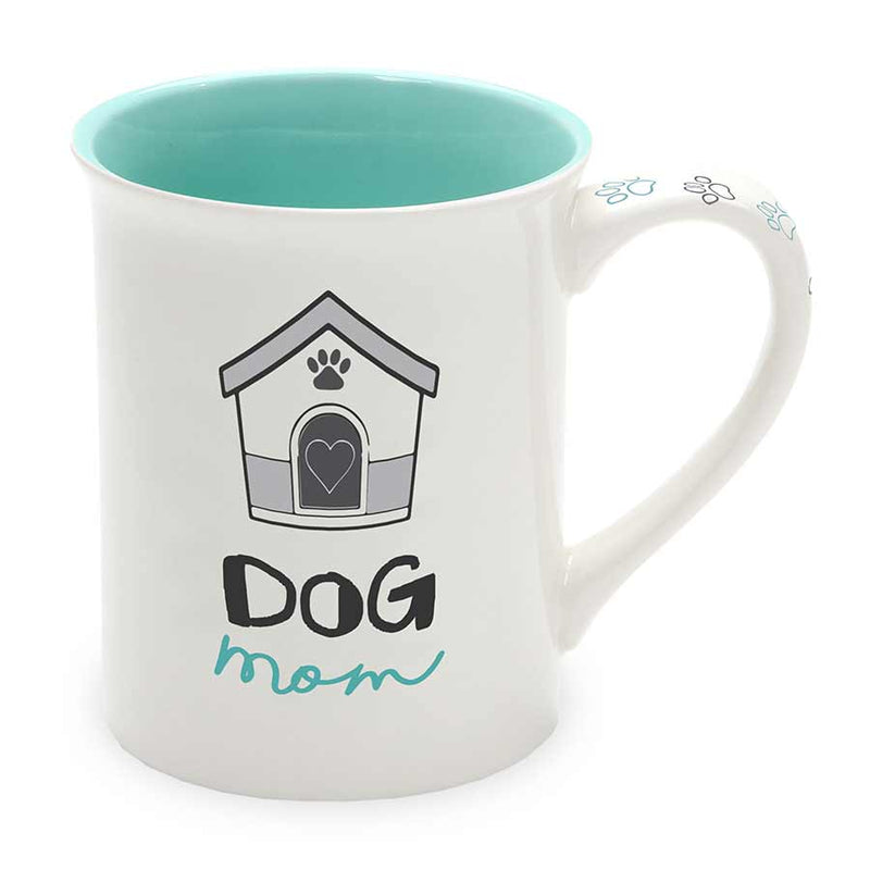 Dog Mom Breed 16 oz Mug