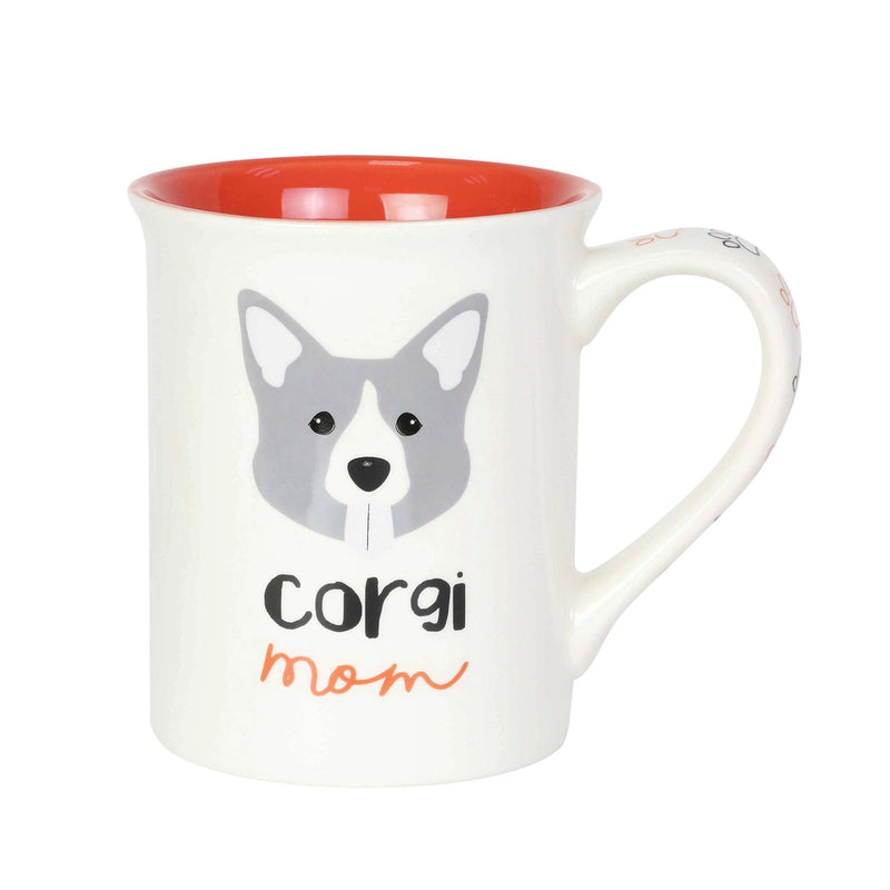Corgi Mom 16 oz  Mug
