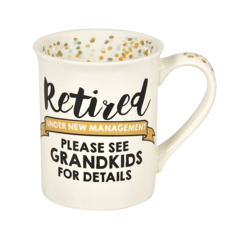 Retired Grandkids Mug