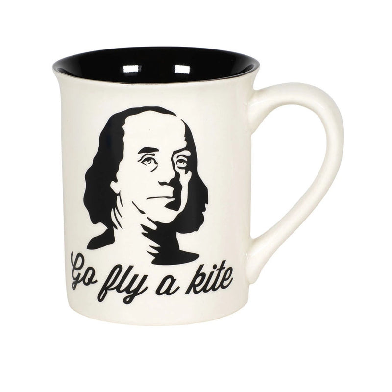 KITE BEN FRANKLIN MUG