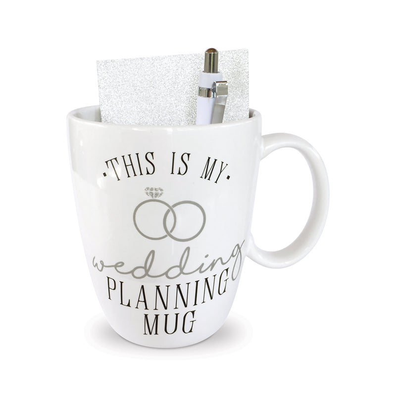 Wedding Planner Mug Notebook