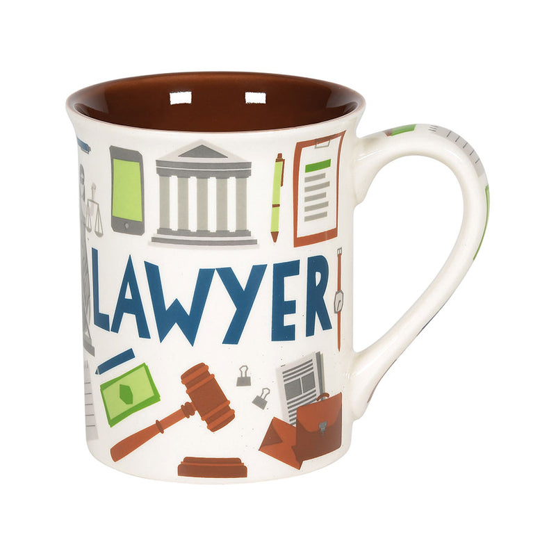 LAWYER PATTERN MUG