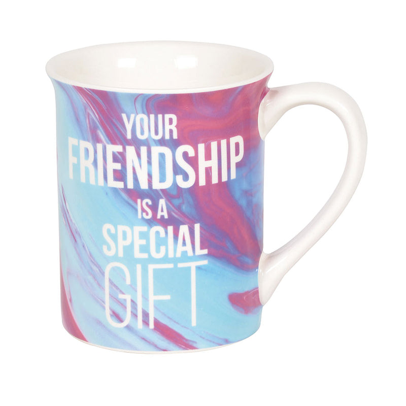 FRIENDSHIP IS A GIFT MUG