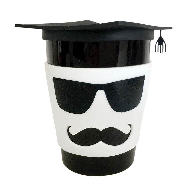Grad Male Mug with Silicone