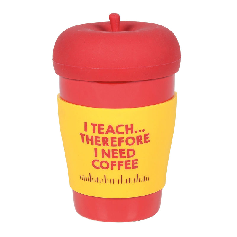 Teacher Mug with Silicone Lid