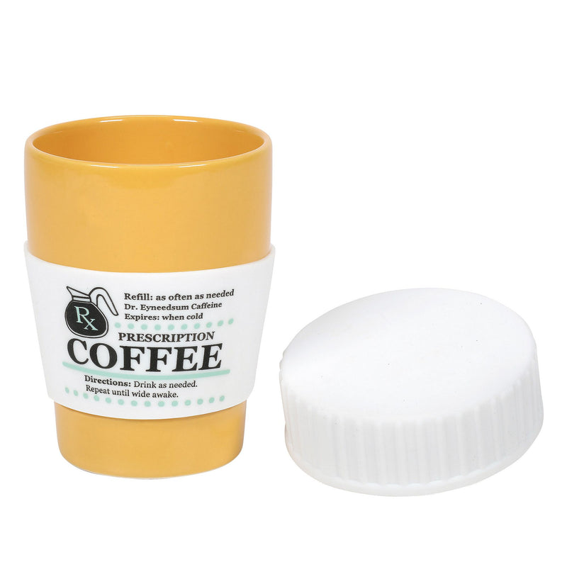 Prescription Mug with Silicone