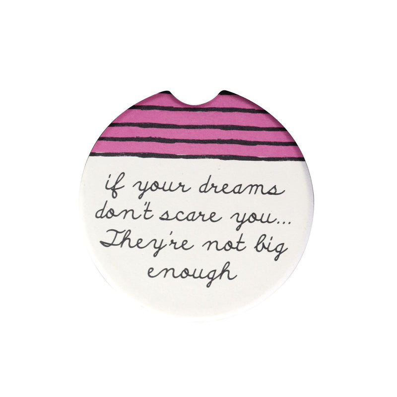 Get It Girl Dreams Car Coaster