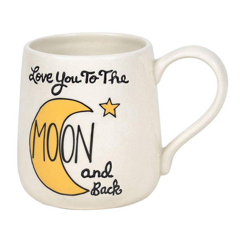 Love to Moon Engraved Mug