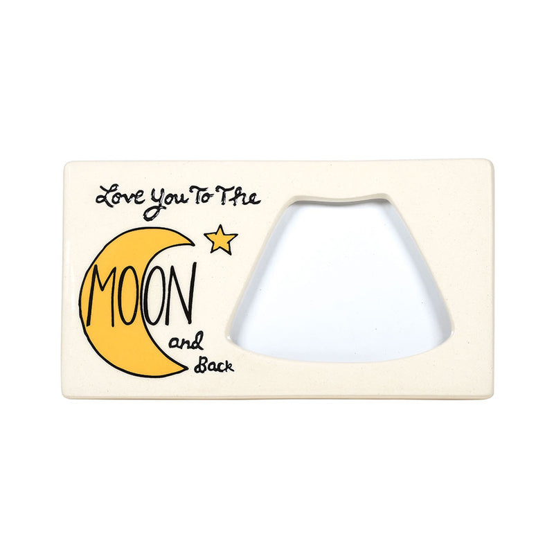 Love to Moon Sonogram Frame