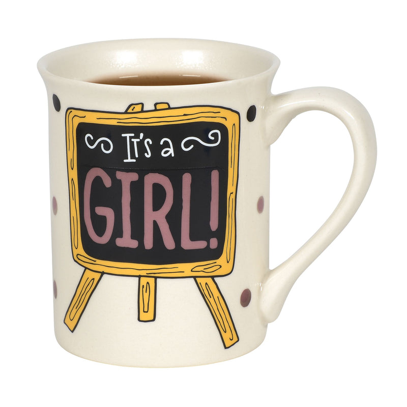 Heat Reveal Its a Girl Mug