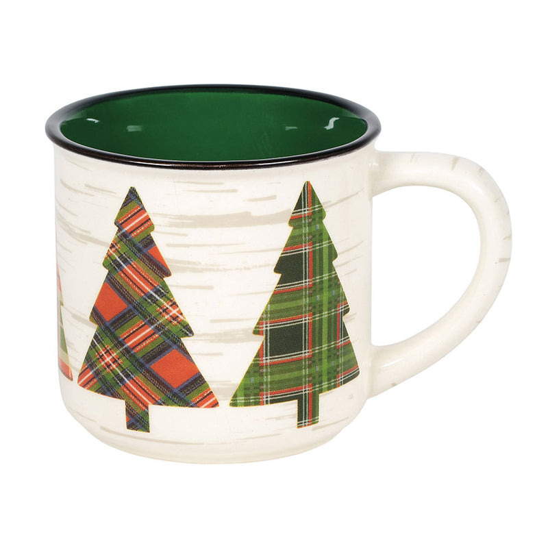 COUNTRY LIVING TREE CAMPER MUG