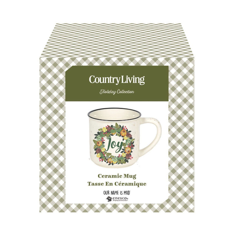 COUNTRY LIVING JOY CAMPER MUG